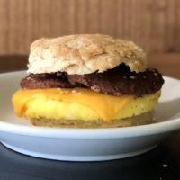Breakfast Sandwich-veggie sausage egg cheese